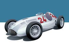 Images: Arthur Schening Drawing inspiration from the racing cars of the and Arthur Schening's motorsport art is stunning, classy, and well worth your time. Schening's work represents racing cars from the and with . Classic Motors, Classic Cars, Mercedes Benz, Car Prints, Blue Prints, Automobile, Car Illustration, Car Posters, Car Drawings