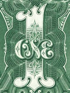 #design #letters #typography #green #money
