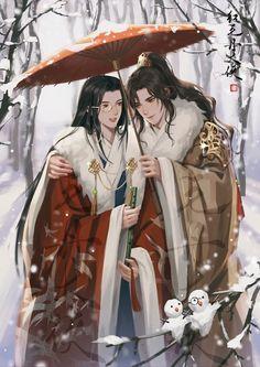 Scenic Wallpaper, Cute Anime Guys, Anime Angel, Historical Fiction, Priest, Hot Boys, Chinese Art, Fantasy, Manga