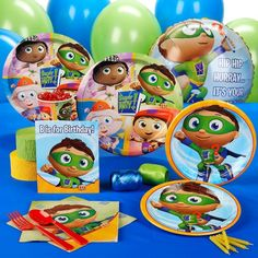 Super Why! Birthday Party Pack for 16 : Target