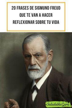20 frases de Sigmund Freud que te van a hacer reflexionar sobre tu vida. #saludable #salud #mental #mente #freud #sigmund #lacan #psicoanalista #psicoanalisis #psico #psicologo #psicologia #frases #cita #consejos #enseñanza #vida #amor #muerte #sentimientos #hombre #mujer #vida #projimo #ser #humano Sigmund Freud, Freud Frases, Intj Women, Emotional Strength, Noam Chomsky, Carl Jung, Psychology Facts, Human Nature, Coaching