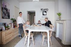 Leen Vanbroekhoven et Robin, Annabel 6 ans, Oscar 4 ans | The Socialite Family