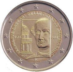 """Moneta Commemorativa """"500° anniv. morte di Donato Bramante"""" Anno: 2014 Stato: San Marino"""