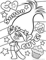Dibujos Para Colorear Trolls Pelicula Globeooffer Com