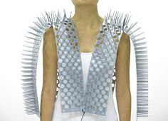 Spiky Vest To Preserve Personal Space In Public Transport