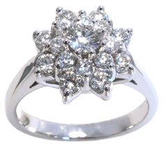 Diamond ring from Hannoush Jewelers | www.Hannoush.com