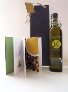 Olive Oil Bottle Set by Thomas Yuen, via Behance