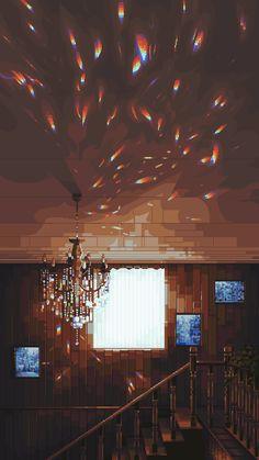 Japanese Shrine, Cool Pixel Art, Pixel Games, You Are My Favorite, Games Images, Game Concept Art, Original Image, Game Design, Art Day