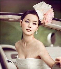 Korean style wedding makeup