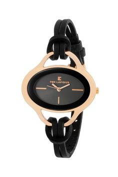 Ted Lapidus Women's Casual Charcoal Watch                              …