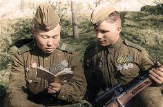 Soviet sniper WW2