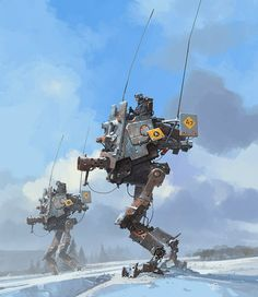 'Mobile Gun Platform' by Ian McQue