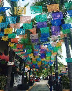 Colorful Streets in Sayulita. Beautiful look!