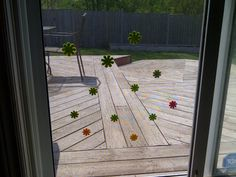 My DIY Fix Of The Day, This Is My Screen Door Picture Taken At Dog