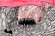 Moby-Dick in Pictures: One Drawing for Every Page by Matt Kish