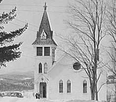New Hampshire Museums (Photo:  Union Church at Sugar Hill, New Hampshire Historic Photo)