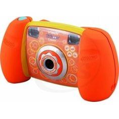 Vtech 122716 - Kidizoom oranžový s pouzdrem - dětský fotoaparát