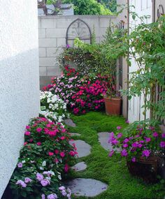 Small spaces can be beautiful gardens too!