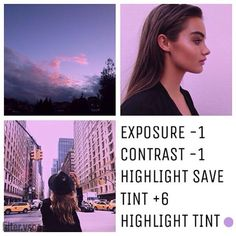 purple theme vscocam - Google Search