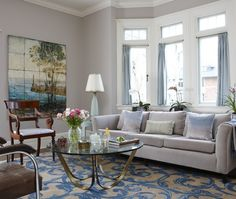 Classic Chic Home: Gorgeous Glass Coffee Tables