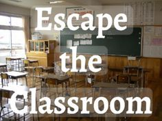 """""""Escape The Classroom"""" was built for middle and high school students. Lost in a new school, students will need to solve clues to escape the abandoned classroom to get to algebra in time! Students will be able to be successful as individuals, small groups, or whole class. Content includes order of operations (PEMDAS) and Greek/Latin roots."""