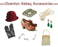 downton abbey accessories - Google Search