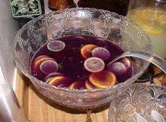 Mardi Gras Punch Recipe | Just A Pinch Recipes