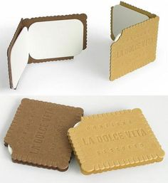 cookie card.. cute and looks yummy too!