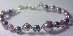 Shealynn's Faerie Shoppe: Pearl and Wire Bracelet
