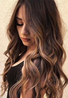 46 Lovely Long Layered Balayage Hairstyles to Try in 2018. Are you finding the best hairstyles and hair colors to make you extra cute and gorgeous? See here, we have collected a list of fresh and modern styles of long layered hairstyles with amazing balayage hair colors to wear in year 2018. Long layers with darn brown hair colors are always give stunning touch to ladies.