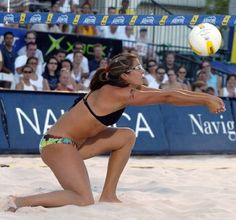 Pro Beach Volleyball. AVP