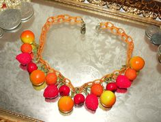 Need a fruit necklace :D
