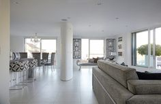 A large bright white London location apartment with lots of natural light. Large terrace of over 1000 sq/ ft available for Photo shoots, Film, TV Uk Location, London Location, 1000 Sq Ft, London Apartment, Apartments, Terrace, Bright, Inspired, Balcony