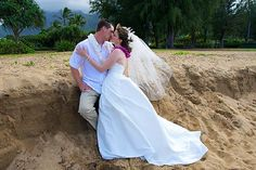Rainbow Weddings & Celebrations ~  www.rainbowweddings.com Imagine your Hawaii wedding ceremony set amidst Kauai's azure-blue waters, lush emerald-green mountains and magnificent waterfalls. There is no experience like a Kauai experience. Hawaii is a magical setting for a lifetime of memories!