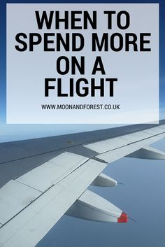 There's a lot of information online about how to find cheap flights but just because you can get the cheapest fare it doesn't necessarily mean you should. If you're flying with baggage, want to upgrade with air miles, need a flexible ticket or want to fly long haul in luxury it might be worth spending more money on your flight.