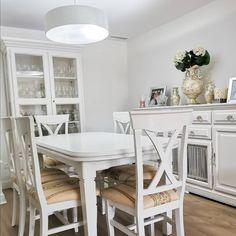 Antes y después: los cambios con chalk paint más espectaculares Decor, Interior, Deco, Dining Table, Home Decor, Classy Living Room, Furniture Makeover, Vintage Decor, Dining Chairs