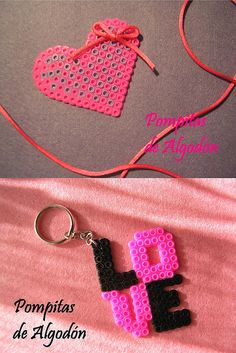 Broche y llavero AMOR | Flickr - Photo Sharing!