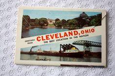 Cleveland Ohio Souvenir Folder, 1958 Vintage Cleveland Souvenir Folder Sokol Slet stamp, Ohio Souvenir, Ohio Postcard, Cleveland Postcard by ValleyFinds4U on Etsy