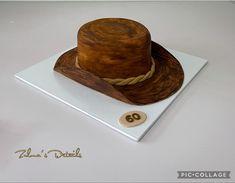 Hat Cake, Custom Cakes, Cowboy Hats, Fashion, Personalized Cakes, Moda, Personalised Cake Toppers, Fashion Styles, Fashion Illustrations