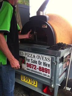 If you would like to trial using an please contact us about our rates for hiring on a weekend within Metropolitan Area Wood Fired Oven, Wood Fired Pizza, Pizza Oven For Sale, Pizza Ovens, Sydney, Railings, Decks, Happy, Wood Burning Oven