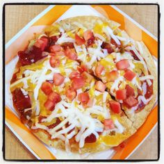 Who wants a slice of our Taco Bell Recipes, Mexican Food Recipes, Ethnic Recipes, Lunches And Dinners, Meals, Pie Hole, Mexican Dishes, Restaurant Recipes, Junk Food