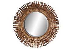 this mirror has just enough character to make it unique, but with a classic feel, just my style!