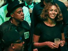 Crazy In Love: Beyonce and Jay Z Show Some Major PDA as They Watch Pal Kanye West Perform