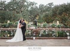 Brookgreen Gardens Wedding | Adam and Emily » Ava Moore Photography | night of a thousand candles | myrtle beach wedding photographer | murrels inlet wedding photographer |