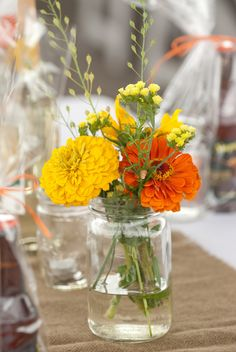Farm wedding flowers by Mustang_Sally