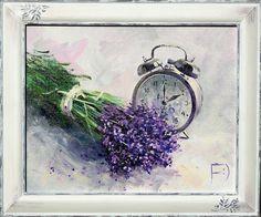 Валерия Меценатова Watercolor Drawing, Watercolor Paintings, Lavendar Painting, Lavender Cottage, Painted Bags, Magnolia Flower, Cute Art, Flower Art, Floral Prints
