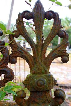 Apalachicola, FL- Chestnut Cemetery- My love for rust, R. Edzard