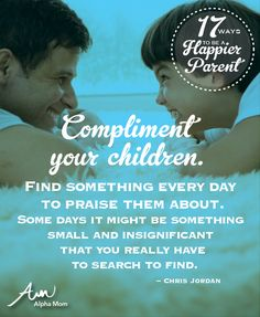 17 Ways To Be a Happier Parent
