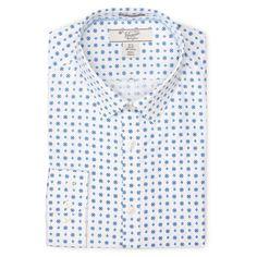 LONG SLEEVE POPLIN DRESS SHIRT