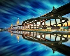 Bhumibol bridge, Thailand by Kittipop Laohakul on 500px